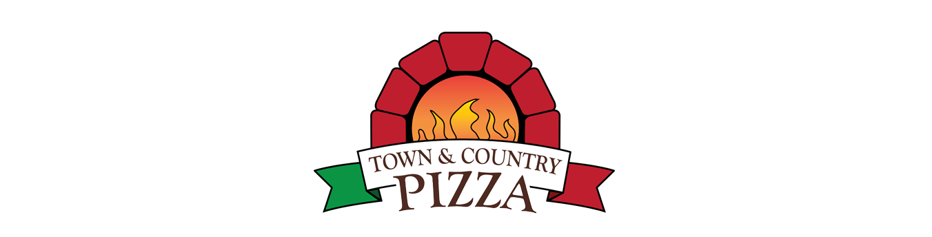 Town & Country Pizza Logo